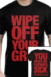 Wipe Off Your Grin (Black)