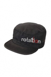 Logo Military Hat (Black)