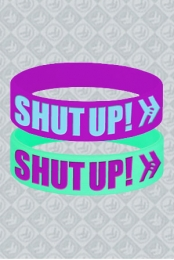 SHUT UP! Wristband Package
