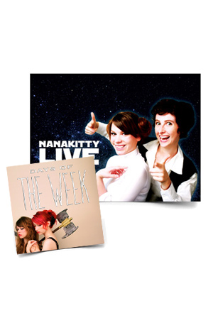 Days Of - The Week CD + Nanakitty Live Poster