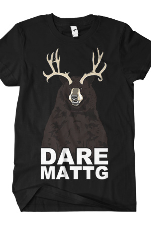 Dare MattG Bear (Black)