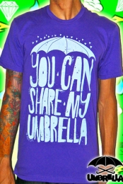 You Can Share My Umbrella (Purple)