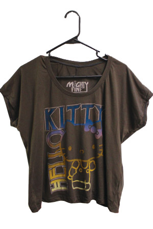 879ca0a28672 Hello Kitty Cropped Tee T-Shirt - Hello Kitty T-Shirts - Online Store on  District Lines