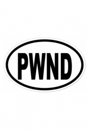 PWND Sticker