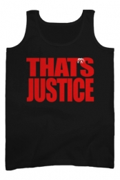 That�s Justice Tank (Black)