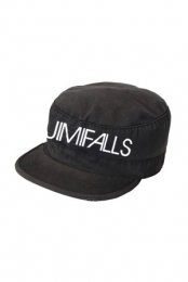 Text Military Hat (Black)
