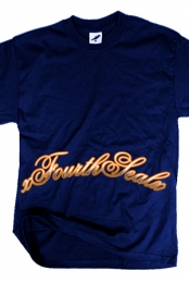 Cursive Edge (Navy Blue)