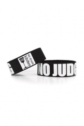 NO JUDGING Wristband