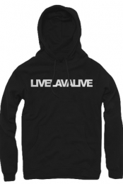 The Simple Logo Hoodie (Black)