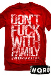Family (Red) + FREE Wristband