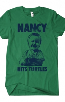 Nancy Hits Turtles (Kelly Green)