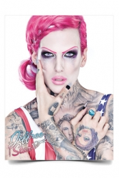 Autographed Jeffree Star Poster (18x24) + Poster Tube