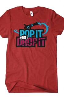 Pop It Don't Drop It (Heather Red)