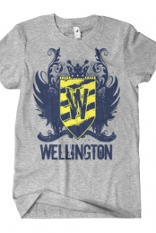 Logo T-Shirt (Grey) Wellington