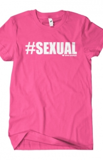 #Sexual T-Shirt (Fuchsia)