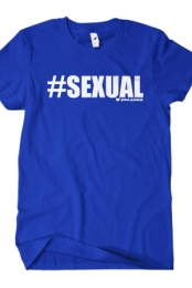 #Sexual T-Shirt (Royal Blue)