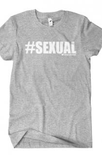 #Sexual T-Shirt (Heather Grey)