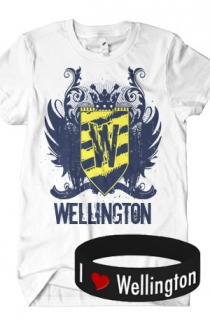 Logo T-Shirt + Bracelet Package (White)
