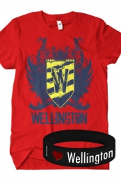 Logo T-Shirt + Bracelet Package (Red)