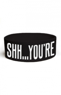 Shh. You're Pretty Wristband