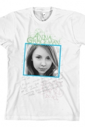 Ladies Handwriting Tee (White)