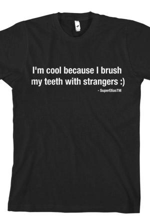 I'm Cool... (Black) T-Shirt - SuperEliasTM T-Shirts - Online Store ...