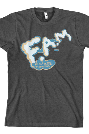 Plane T-Shirt (Heather Charcoal)
