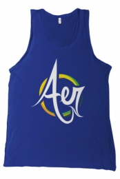 Fresh Aer Movement Tank-Top (Navy Blue) Fresh Aer Movement