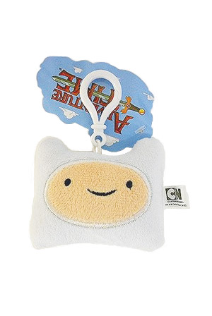 Finn Head Plush Clip On