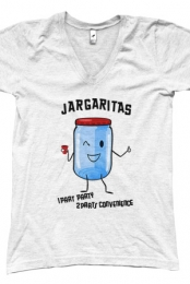 Jargaritas V-Neck (White)