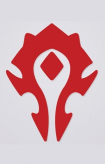 Horde Cutout Sticker