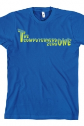Name T-shirt (blue)