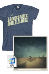 Lonesome Dreams Vinyl + Exclusive T-Shirt + CD Download