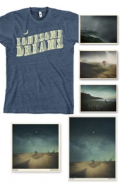 Lonesome Dreams Vinyl + Postcard + Exclusive T-Shirt + Poster + CD Download
