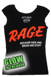 R.A.G.E Girls Glow Shirt