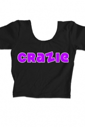 Crazie Croptop Purple