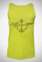 Anchor Tanktop (Neon Yellow)