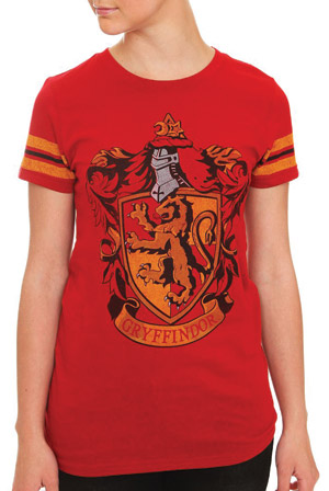 a03f9063 Gryffindor Shirt (red) T-Shirt - Harry Potter T-Shirts - Online Store on  District Lines
