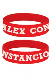 Alex Constancio Wristband (Red)