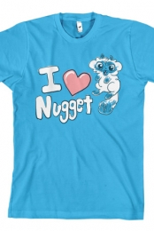 I Heart Nugget (Turquoise)