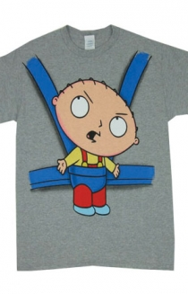 Stewie in Baby Swing