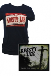 RTD Womens Tee (Navy) + Raise the Dead CD