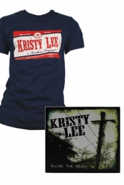 RTD Mens Tee (Navy) + Raise the Dead CD