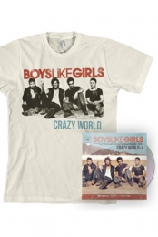 Crazy World LP + Shirt