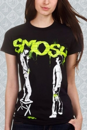 Graffiti Tee (Green Girls)
