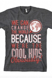 We Can Change The World (Heather Charcoal)