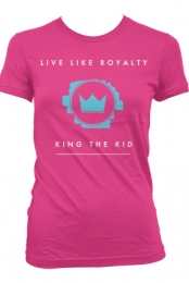 Live Like Royalty (Girls T-Shirt)