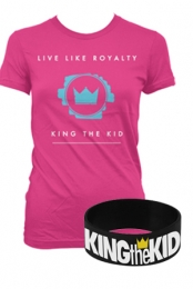Live Like Royalty (Girls) + Wristband