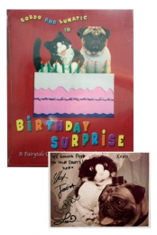 Gordo and Lunatic in Birthday Surprise with Autographed Photo