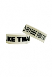 I Like That Wristbands (White)